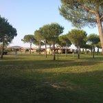 Il parco, molto bello e curato