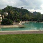piscina esterna (peccato il tempo brutto)