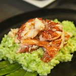 Lobster & Sweet Pea Risotto
