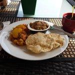 delicioso desayuno pakistaní
