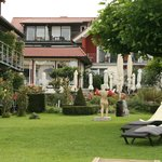 Hotel grounds - garden