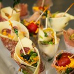 finger food al buffet