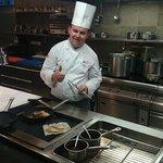 Chef, open kitchen