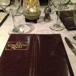 Menu of the Coronado Dining Room