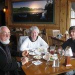 dinner at the Boat house restaurant