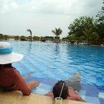 Una de las maravillosas piscinas