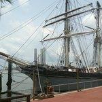 all steel tall ship
