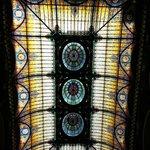 Teto de vitrais