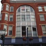 Photo of old building in downtown Staunton, Va