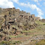 One of the stops along the way - I believe Ollantaytambo?