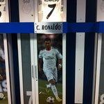 Shot of the big man's locker