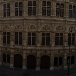 Sicht an die Wiener Staatsoper