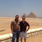 Me with the best Memphis tour guide for Cairo.