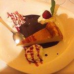 delicious cheesecake dessert