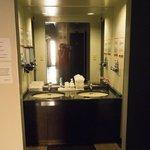 Wash Basins On Each Floor