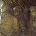 Inside the sculptors studio