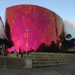 Exterior of the EMP Museum