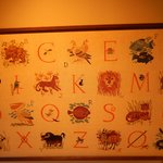 Needlework sampler, Elverhoj Museum