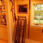Farm tools + sled