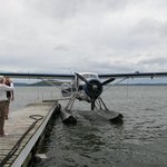 Floatplane on Lake Rotorua