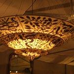 lamp bij de bar