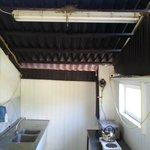 Køkkenrum med svalerede