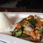 Excellent! Shrimp Cashew. Tom Yum Soup too!
