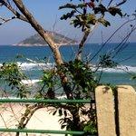 Chegada à Praia de Grumari
