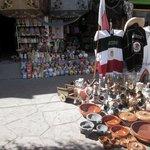 Försäljning vid Avenida Revolucion