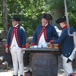 18th century soldiers!