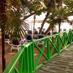 Deck to Beach