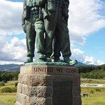 The Commando memorial at Spean Bridge
