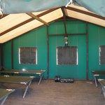 Tent Cabin 6 interior (2014)