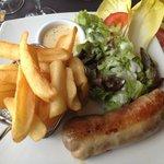 Andouillette AAA + frites juillet 2014