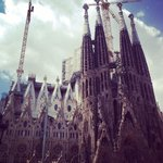 Stopped by Sagrada Familia on the tour and learned loads about it's history and future.
