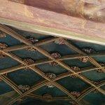 Le plafond du balcon. Chaque intersection représente une alliance