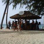 the beach bar , my favorite spot.