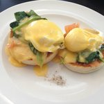 Jones the Grocer salmon eggs benedict