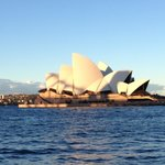 View of Opera House from Internationals dock