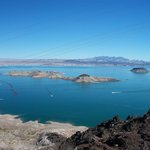 View of Lake Mead from Dam