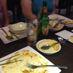 Another great meal empty plates as always��