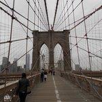 vista desde el puente de Brooklyn