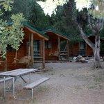 camper cabin area