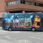 The Bus That Takes You to Warner Bros. Studios Outside Watford Junction Station