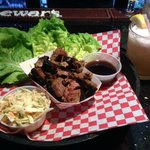 Korean Lettuce Wraps with Beef Brisket & Zesty Basilista