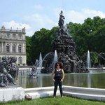 Fontes em frente ao palácio