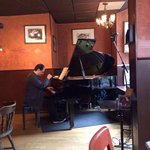 Carnegie Hall meets West Village funky Cafe