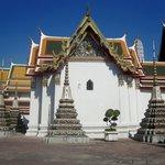 Temple et chedis