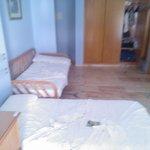 la nostra stanza, molto spaziosa