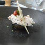 tuna and aubergine